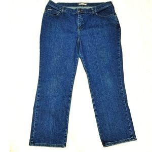 Lee Relaxed Straight Leg - at the waist Jeans